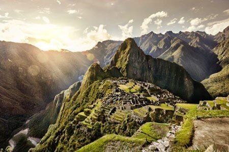 Die Heimat der Maca Wurzel: Machu Picchu