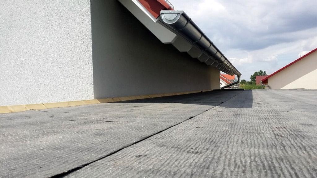 Carport-Dach Dachpappe