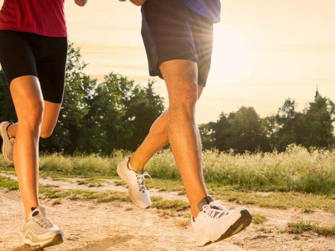 Für die Gesundheit: in Bewegung setzen