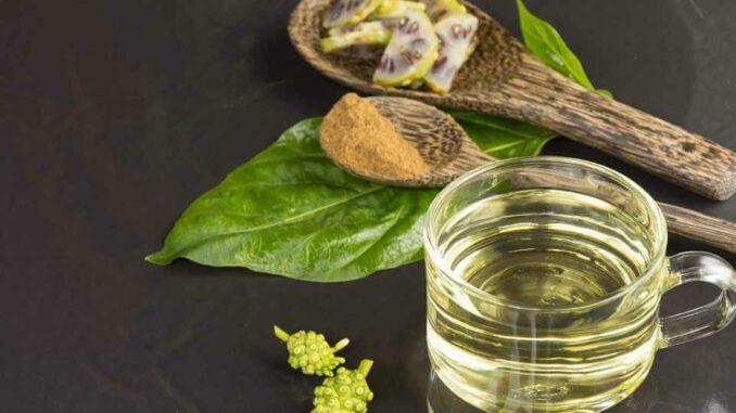 Norisaft und die Nori-Frucht